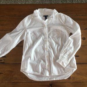 Gap XS button down shirt